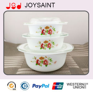 Ceramic Tableware Casserole with Lid pictures & photos