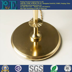 High Precision Casting Brass Lamp Base pictures & photos