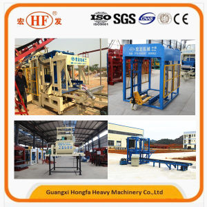 Concrete Block Machine Paving Brick Machine Hongfa Brand (Qt6-15) pictures & photos