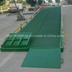 10 Tons Mobile Forklift Hydraulic Yard Ramp (LZ-YDQ)