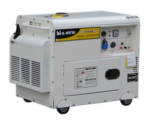 6.5kw Silent Type Diesel Generator for Home Use (DG8500SE) pictures & photos