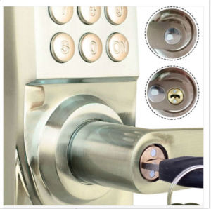Classic Easy-Installed Digital Electronic Door Lock Opened by Code or Key pictures & photos