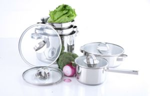 9PCS High Quality Stainless Steel Cookware Set pictures & photos
