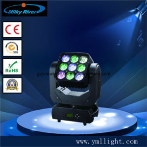 150W Endless Rotation 3X3 Matrix LED Moving Head pictures & photos