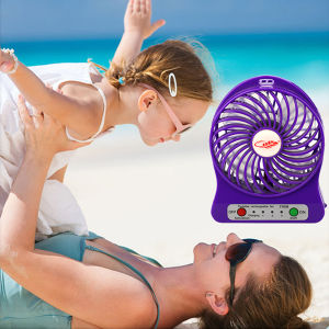 2016 LED Light Portable Rechargeable Handheld Mini Fan (F95B) pictures & photos