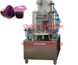 Automatic Rotary Milk Filling Sealing Machine pictures & photos