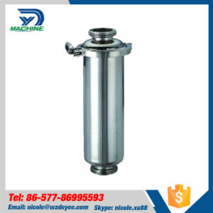 Stainless Steel Sanitary Pipeline Filter for Liquid Food pictures & photos