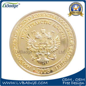 Zinc Die Cast Gold Coin for Promotion pictures & photos
