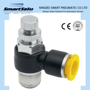 Ningbo Smart High Quality Nes Speed Controller Pneumatic Fittings pictures & photos