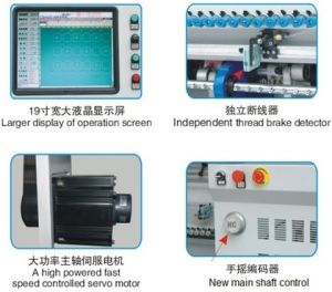 Newest High Speed Computerized Chain Stitch Multi Needle Quilting Machine (HC3500) pictures & photos