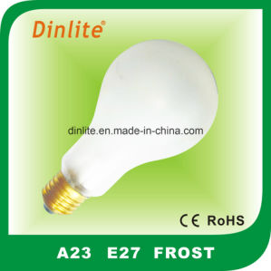 A23- E27 Frost Clear Incandescent Bulb pictures & photos