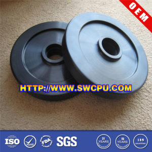 Machining Modular Plastic Pulley Roller Impeller pictures & photos