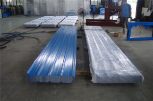 ASTM Sky Blue Color Coated Sheets Trapezoidal Steel Sheet Plate pictures & photos