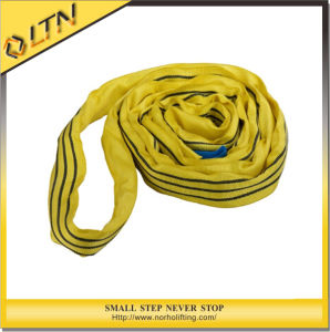 Polyester Lifting Round Sling in Yellow Color (En1492-2) pictures & photos