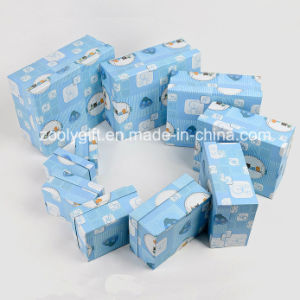 Customized Luxury Paper Storage Box Paper Display Designer Gift Packing Box for Baby Cloth / Toy pictures & photos