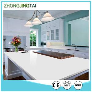 House Design Sparkle White Synthetic Artifical Quartz Slabs pictures & photos