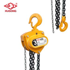 Vd Double Pawl Brake System Chain Block Hoist pictures & photos