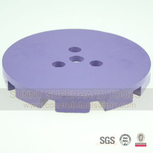 Pin Concrete Floor Grinding Plate pictures & photos
