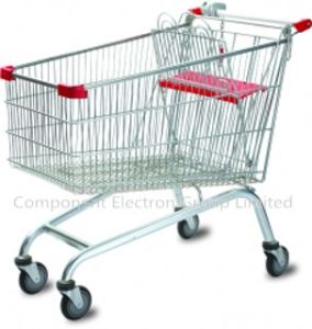 Supermarket Shopping Trolley Retail Customize for Customer pictures & photos