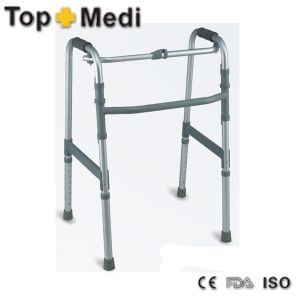 Health Care Products Aluminum Adjustable Walking Frame Rollator pictures & photos