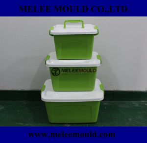 Plastic Stackable Green Portable Moulding pictures & photos