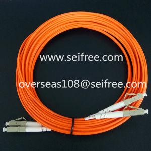 Multi Mode Lu-Lu Om1 CATV Fiber Optic Patch Cord pictures & photos