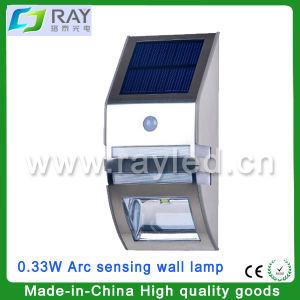 0.33W LED Arc Sensing Wall Lamp Solar