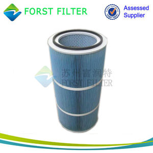 Forst Spunbonded Polyester Dust Filter Cartridge pictures & photos
