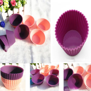 Non-Stick Food Grade Bakeware Tool Silicone Cake Mould DIY Cup Cake Mold pictures & photos