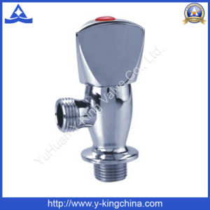 All Chrome Plated Brass Angle Valve with Factory Price (YD-5010) pictures & photos