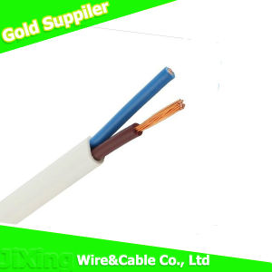 Double PVC Jacket Copper Conductor Flat Wire pictures & photos