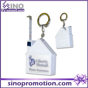 Tape Measure with Key Chain Promotional Gift Mini Tape Measure pictures & photos