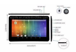 Hot Sale 10.1inch Tablet PC A33 Allwinner Android 4.4 pictures & photos