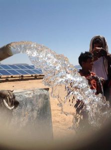 Solar Water Pumping System for Irrigation in Yemen
