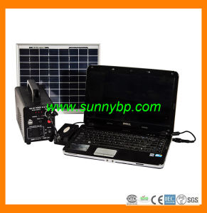 30W Portable Solar Power System for Laptop pictures & photos