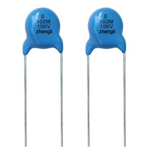 High Voltage Disc Ceramic Capacitor (4KV, 6KV, 8KV, 10KV, 12KV, 15KV)