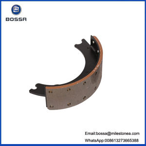 Truck Trailer Parts Brake Shoe Sand Casting Parts 1308q pictures & photos