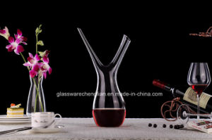 Unique Design of Lead Free Crystal Wine Glass Decanter (XJQ-026) pictures & photos