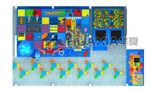 Kids Indoor Playground Games for Hot Selling Parque Infantil pictures & photos