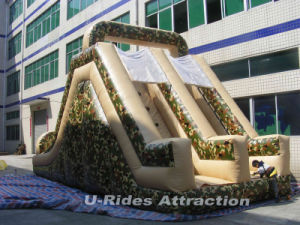 2016 camouflage paint inflatable obstacle for fun pictures & photos