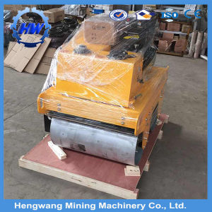 Hydraulic Single Drum Vibratory Roller Mini Road Roller pictures & photos