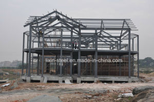 Long Life Time Strong Prefab Steel Structure Villa Building pictures & photos