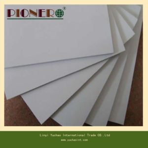 White PVC Skirting Board for Cabinet pictures & photos