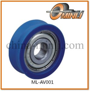 Plastic Pulley with Bearing for Window and Door (ML-AV001) pictures & photos