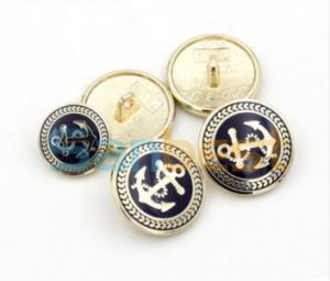 New Design Colorful Metal Buttons for Jeans pictures & photos