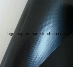 PVC Laminated Tarpaulin Waterproof Fabric Sunshade (500dx300d 18X12 300g) pictures & photos