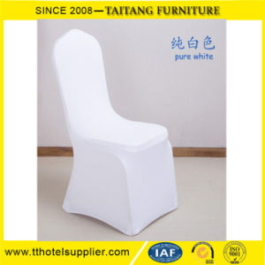 White Stretch Wedding Spandex Banquet Chair Cover pictures & photos