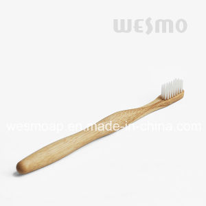 Eco-Friendly Bamboo Toothbrush (WBB0872A) pictures & photos