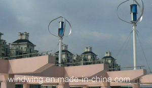 600W High Efficient Vertical Axis Wind Power Turbine pictures & photos