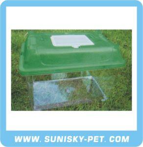 Transparent Plastic Pet Case (SFT-210C) pictures & photos